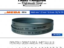 Fierastrau panglica metal 3660x27x0.9x10/14 Meba 251 A