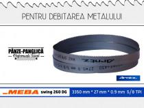 Fierastrau panglica metal 3350x27x0.9x5/8 Meba swing 260 DG