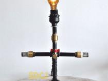 Lampa suport steampunkdesigncj, lampa steampunk