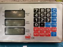 Cantar Electronic Cu Platforma Wireless Fara Fir 300 kg