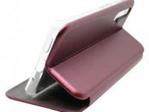 Husa Telefon Flip Book Magnet Huawei Nova 5T Bordo PRODUS NO