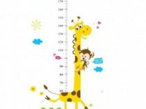 Sticker Decorativ, Masuratoare Cu Animalute 180 Cm, 131STK