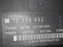 Modul cconfort bcm opel vectra c gm13199492