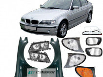 Aripa far faruri sticla semnal fata stanga/dreapta BMW E46