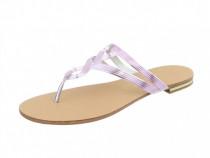 Papuci Damă Flip-Flop, Culoare Roz, 37-43-Pink, Mărimi 37-38