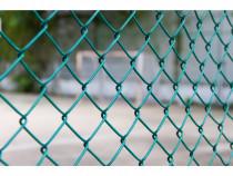 Plasa gard verde 1.2 x 10 , doua bucati,cu sarma de legat