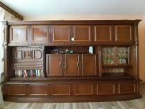 Bibliotecă din lemn masiv