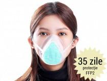 Mască protecție respiratorie din Silicon cu filtru HEPA Clev
