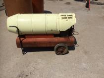 Generator de aer cald, tun de caldura