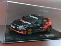 Macheta Subaru Impreza WRX Rally Scotland 2011 - IXO 1/43