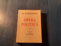 Mihai Eminescu Opera politica volumul 1 1999