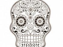 Sticker Decorativ, Skull, 78 Cm, 216STK-11