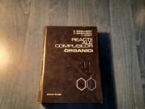 Reactii ale compusilor organici E. Barbulescu