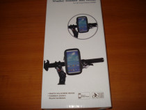 Suport telefon impermeabil universal cu prindere bicicleta s