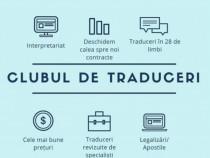 Traduceri legalizate / autorizate sector 6