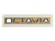 Emblema Spate Oe Skoda Octavia 3 2012→ 5E08536872ZZ