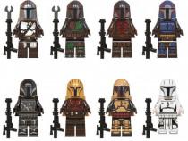 8 Minifigurine tip Lego Star Wars cu Mandalorians Pre Vizsla