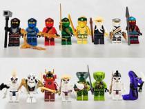 Set 16 Minifigurine tip Lego Ninjago sezon 11 cu Lasha