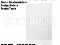 Oglinda Baie Dreptunghiulara Moderna 70 x 50cm Iluminta Led