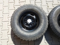 Jante si anvelope 235/75 r 15 ranger, offroad, suv,