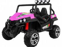 Masinuta electrica pentru copii utv buggy s2588 new face roz