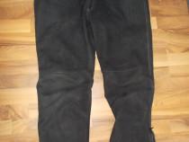 Pantaloni polo road,piele,ideal moto sau de strada,sunt mari