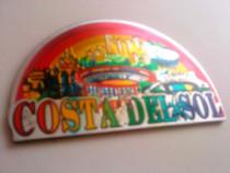Magnet de frigider, Costa del Sol, Made in Spania, nou
