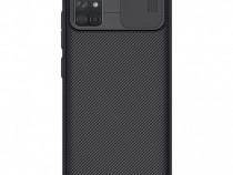 Husa telefon Silicon Samsung Galaxy A71 a715 Black Camera