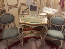 Masa toaleta+scaune,antica/vintage,rococo/louis/baroc/veneti