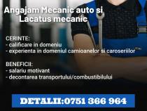 Angajam mecanic auto si lacatus mecanic in mihailesti.