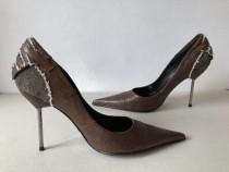 Pantofi deosebiti Patrizia Rigotti originali, noi, din piele