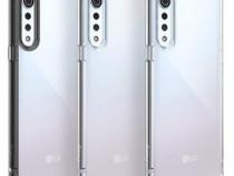 Husa Folie ecran LG Velvet 5G modele diferite premium