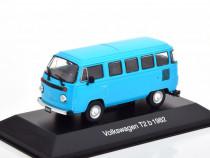 Macheta Volkswagen VW T2b Bus 1982 - Altaya 1/43