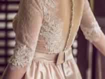Rochie de mireasa model actual TESORO Bologna culoare IVOIRE