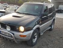 Nissan terano 2 an 1998 diesel 27 manual 4x4 cu diferențial.