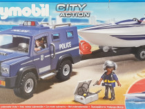 Playmobil 5187 Camion de politie cu barca