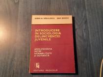 Introducere in sociologia deligventei juvenile S. Radulescu