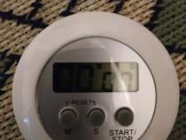 Ceas,timer,cronometru digital,nou cu baterie inclusa,nou