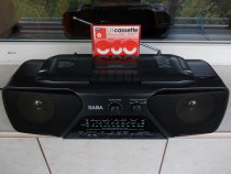 Radio SABA RCR 591 casetofon portabil,vintage Germany