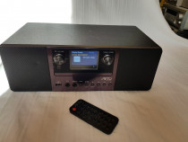 Microsistem cu USB, Bluetooth, DAB+, Radio, CD, Aux