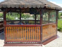 Inchideri terase cu folie transparentă (cristal), TIMIS