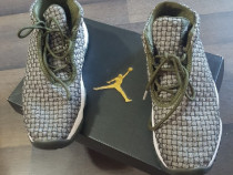 Nike Air Jordan Future Olive Canvas copii 10-12 ani