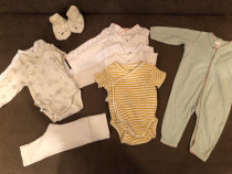 Lot haine bebe H&M marimea 50-56