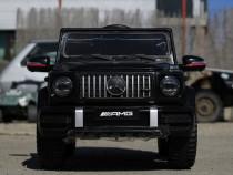 Masinuta electrica Mercedes G63 AMG 60W 12V PREMIUM #Negru