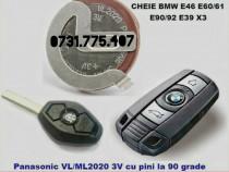Baterie acumulator cheie BMW E38 E39 E46 E60 E65 X3 X5 z3 z4