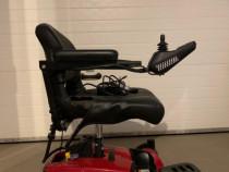 Scaun cu rotile electric pliabil