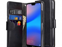 Husa Telefon Wallet Case Huawei P20 Black BeHello PRODUS NOU
