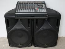 Mixer Amplificat+Boxe - Behringer Europower PMP3000