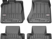 Set Covorase Auto Cauciuc Negro Audi A4 B8 2007-2015