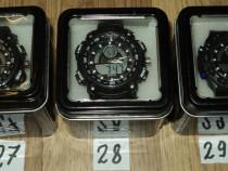 Ceasuri Hibrid digital & analog cu carcasa de metal